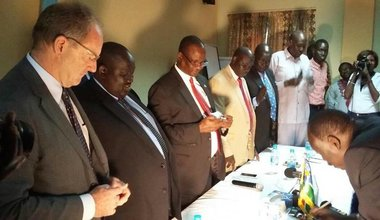 PEACE AGREEMENT SIGNED BETWEEN JONGLEI AND BOMA STATES
