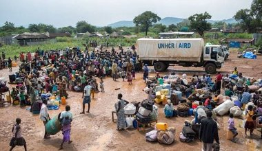 UN refugee agency chief visits Uganda over South Sudan refugee crisis