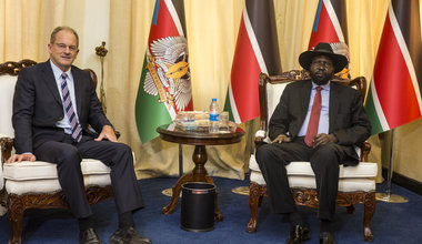 President Kiir pledges to improve relations with United Nations