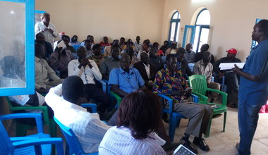 UNMISS holds unique dialogue forum in Pariang, including nomadic groups from Sudan