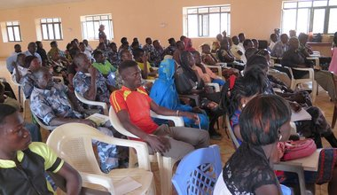 UN Police organize workshop for community watch groups in Wau