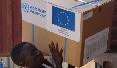 WHO and ECHO have delivered essential medicines and supplies to cholera-affected communities in South Sudan