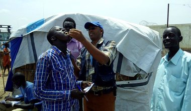 WHO secures oral cholera vaccines to slow down the spread in remote areas of South Sudan