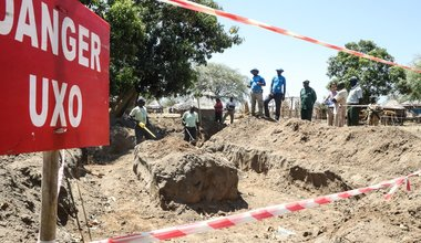 UNMAS teams reach out to communities with demining services